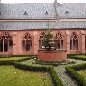 ドイツXmas4-7マインツ④ザンクト・シュテファン教会