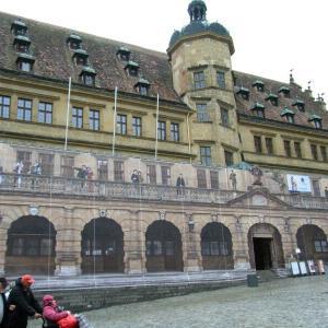 ドイツ王道4-5マルクト広場と市庁舎の塔の上@ローテンブルク【過去編】
