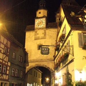 ドイツ王道4-8夜警ツアー@ローテンブルク【過去編】