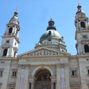 中欧周遊9-3イシュトヴァーン大聖堂の展望台@ブダペスト【過去編】