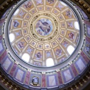 中欧周遊9-4イシュトヴァーン大聖堂内部@ブダペスト【過去編】