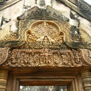 カンボジア2-2バンテアイ・スレイの中央祠堂あたり【過去編】