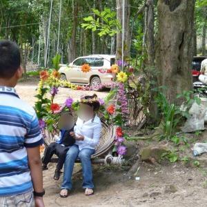 カンボジア3-8ブランコ・お弁当・天然プール@プノン・クーレン【過去編】