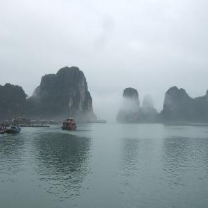 ベトナム北部2-2海の桂林ハロン湾クルーズ【過去編】