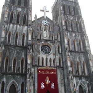 ベトナム北部3-5ハノイ大聖堂【過去編】