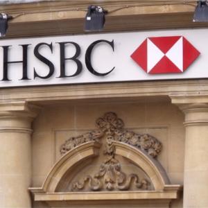 HSBC 米金利上昇で株価上昇