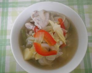 豚肉と野菜のスープ煮