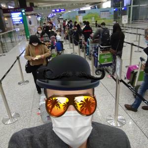 【コロナPCR検査香港入国体験記】政府指定隔離施設での1泊!頑張れB場さん