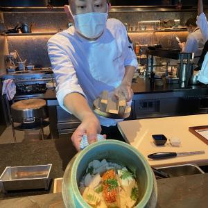 香港 懐石料理 Ryota Kappou Modern 中環 ミシュラン1つ星 早ディナー