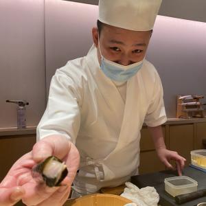 香港 寿司『植原』銅鑼湾 週末は早ディナーです!!