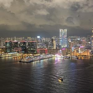 フォーシーズンズホテル香港5つ星  45F エグゼクティブラウンジ パート2