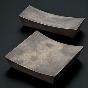 【BSイッピン】まるで真鍮のような新潟漆器の皿