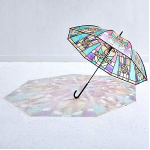 日テレジップ|ステンドグラスの傘とその作り方