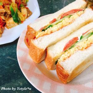 サンドイッチと上映会