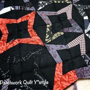 はめ込み縫いの説明と、私流の縫い代がたくさん集まっているときの処理