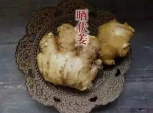 食憲鴻秘、ショウガの調理法