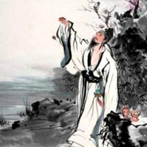 李白と酒(清風夜雨)