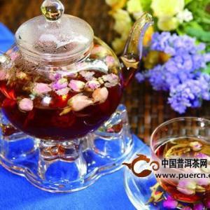 ダイエットにいいバラ・プーアル茶(中国のネット)