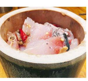 信陽の筒鮮魚、美食中国