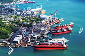 常石造船は海外3か国で船を建造する国内外建造を取ってます