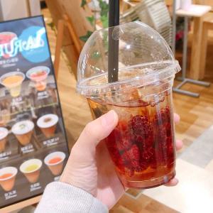 イコアスの大川園 リニューアルでカフェ登場!果実イン紅茶がベリー感満載で予想以上に贅沢すぎた