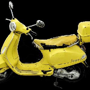 バイクのシートにビニルシートを被せると乗り心地も良くて節約にもなる