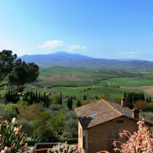 オルチャ渓谷の世界遺産の村、ピエンツァ