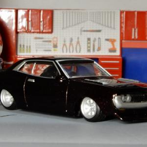 1/64 セリカ 1600GT 1970年 RA20 アオシマグラチャンコレクション