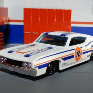 1/64 フォード トリノ タラデガ 1969 【改】 ホットウィール