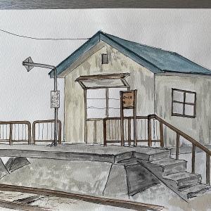 JR札沼線 札的駅