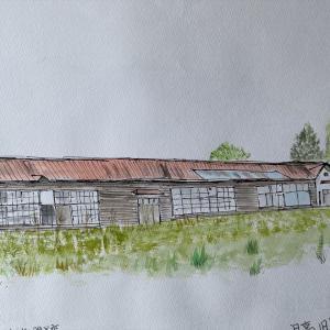 沙流郡 旧富岡小学校