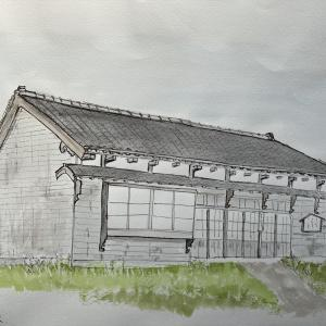 爾志郡 蛸島の家