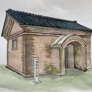 十勝監獄石油庫(明治34年建設)帯広市指定文化財
