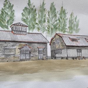 標津郡 「北海道の近代化遺産」酪農試験場