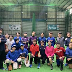 No,15 No,15 HYOGO BLUE SANDERS Women's Baseball Team?!