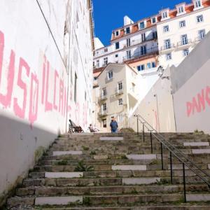 教会、お城、美術館。【リスボン徒歩観光】