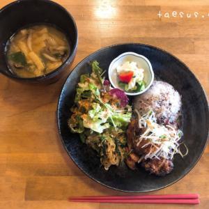 「塩麹漬け信州ハーブ鶏の唐揚げ」HAKKO YAMANOUCHIでランチ