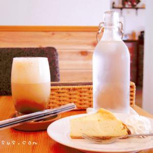 中野松川のおしゃれカフェ「cafe RUSTIC」でナッツラテとチーズケーキを食べてきました