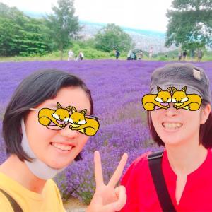 札幌市にもラベンダー畑があった!4連休の使い道③