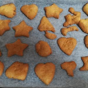 クッキーをホットケーキミックスで子供と一緒に作ろう♪