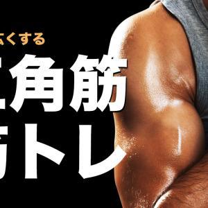 初心者向け「肩」の鍛え方。肩幅を広くする三角筋の筋トレ6選【ジム歴2年の僕が解説】