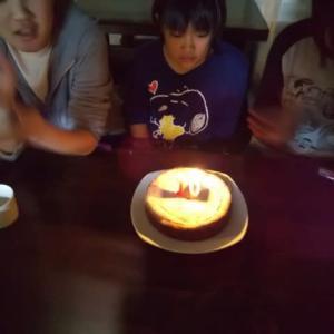 10歳誕生日(三女)