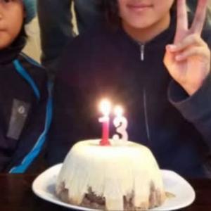 13歳誕生日(次女)