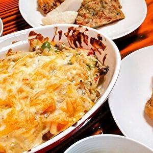 バターナッツ・スクワッシュとポテトのグラタン