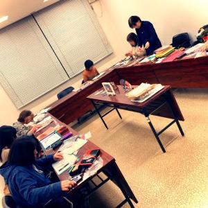 グラスアート✨夜の教室〜2月
