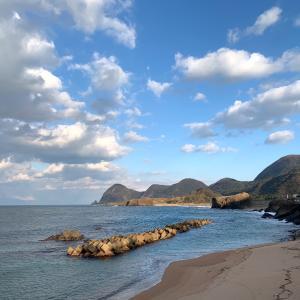 砂浜ラン〜キラキラ夕日を追っかけて