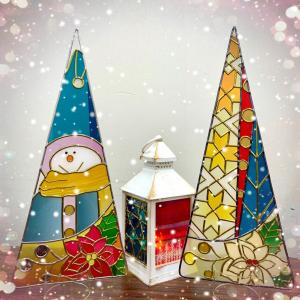 グラスアート〜冬の楽しみ