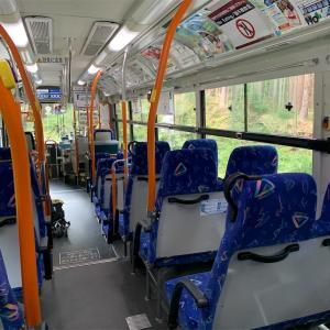 富士急行バスが大渋滞で富士急ハイランド到着時、受付終了!