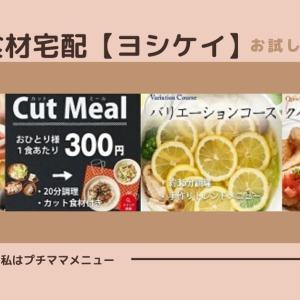 食材宅配【ヨシケイプチママメニュー】お試し5日間申込方法