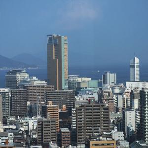 県庁からの素敵な光景(瀬戸内海)